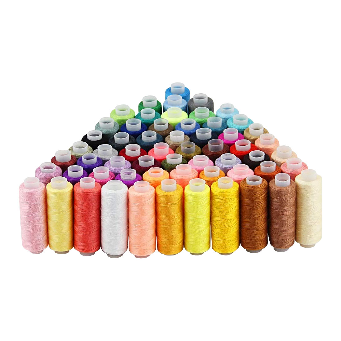 60 cores 250 quintal máquina colorida bordado linha de costura de poliéster linha de costura mão artesanato remendo direção-roda suprimentos