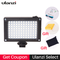 Rechargeable LED Video Lighting Set On DSLR Camera With Battery And Filters For Canon Nikon Sony