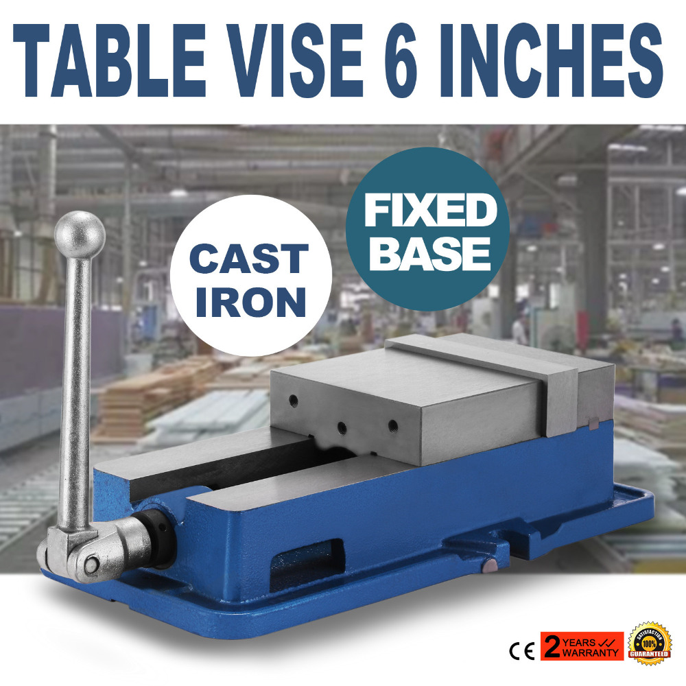 Heavy Duty 6inch cast steel bench vise table vise Bench vice in Vise цена