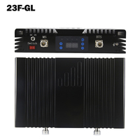 2G 4G Dual Band Signal Booster LCD Display MGC GSM 900mhz LTE 2600mhz Big Power Cellular Repeater Gain 75dB Amplifier