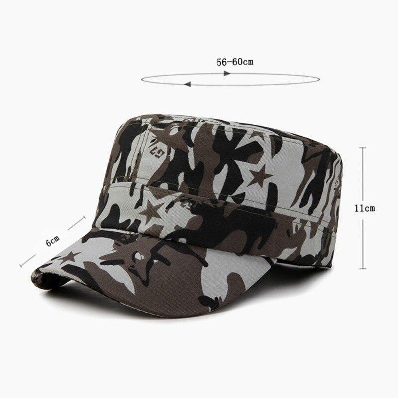 Cap tático Esporte Ao Ar Livre Snapback Tampas tarja Camuflagem Chapéu Militar Do Exército do Camo da Caça