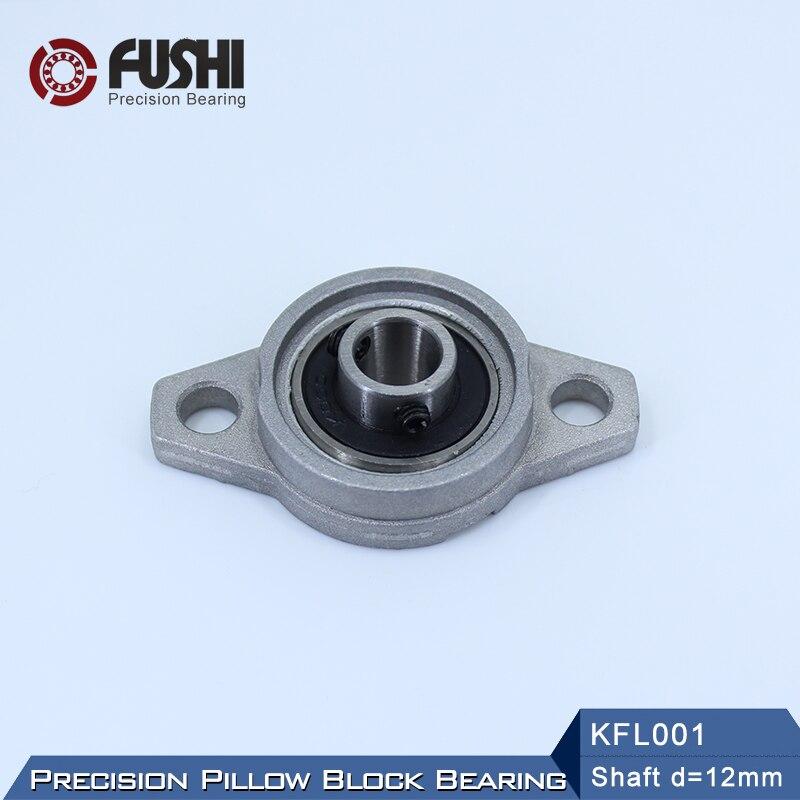 15mm Flange Bearing KFL002 Miniature Pillow Block Mounted Bearings