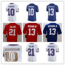 24f96a73c Youth s Eli Manning Odell Beckham Jr Landon Collins Vapor Untouchable  Salute To Service Color Rush Custom Giants Limited Jersey