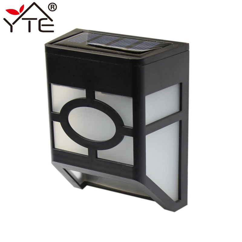 YTE Solar Guard Light Wall Light Waterproof Garden Lamp Power LED Solar Lamp IP44 Solar Light Street Night Lighting