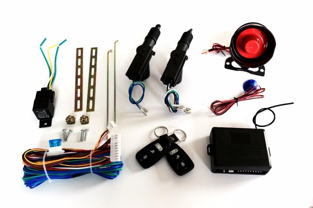 24 V Alarme De Voiture Système D'une Manière Véhicule Antivol Alarme de Sécurité Protection Système avec Antivol Auto Control À Distance