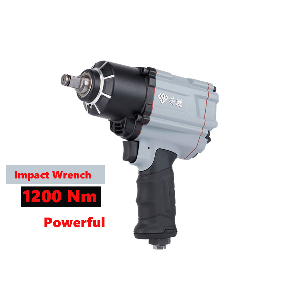 1200NM Impact wrench Powerful  Pneumatic Wrench,Professional Auto Repair Pneumatic Tools,Spanners Air Tools-in Pneumatic Tools from Tools    1