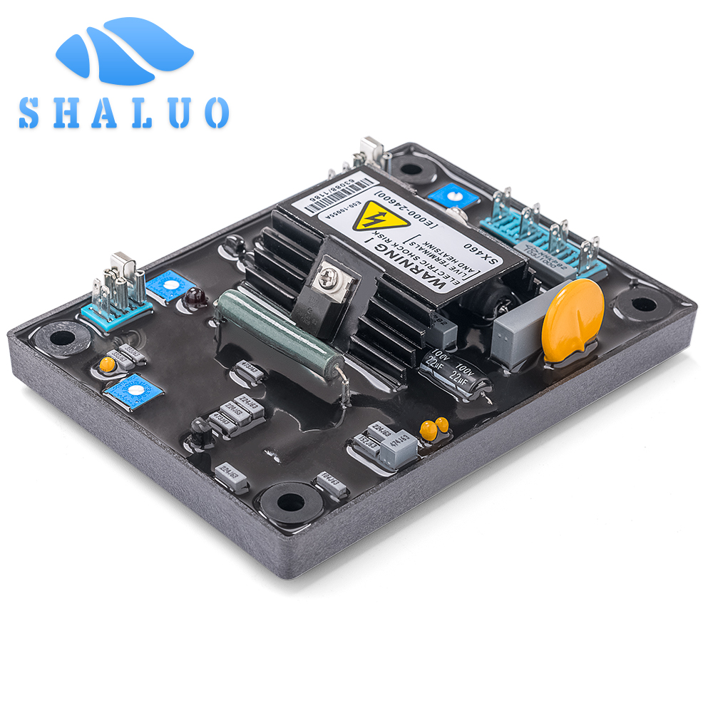 Sx460 AVR gerador diesel automatic estabilizador de tensão regulador de tensão para alternador sem escova gerador eletrônico