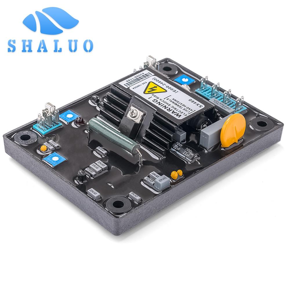 Sx460 AVR generador diesel, estabilizador de voltaje automático electrónico regulador de voltaje para alternador sin escobillas generador