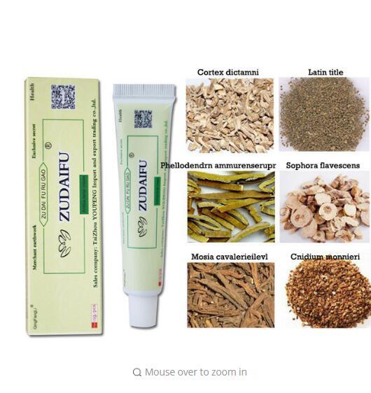 Zudaifu Dermatitis Eczematoid Eczema Ointment Treatment Psoriasis Cream Skin Care Cream  Without Retail Box