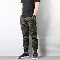 Fashion Men's Jeans Jogger Pants Camouflage Cargo Pants Men SMDY 017