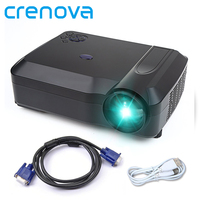 Crenova XPE650 XPE650 Chiếu 1280*768 Movie Cinema USB HDMI VGA Home Theater FulL HD Chiếu Kids video Chiếu kho!