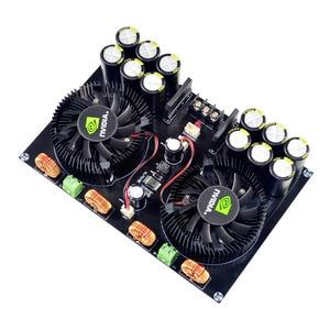 Image 3 - KYYSLB TDA8954 420W + 420W 2,0 Class D Digital Power Amplifier Board (Lüfter Kühlung) AC12.5V zu AC26V Verstärker Bord