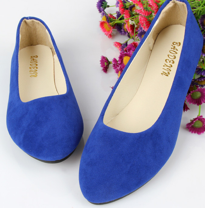 New Spring Autumn Women's shoes Ballet Flats Flat shoes Casual shoes Shallow mouth Work shoes Size 35-43 aiyuqi 2018 spring new genuine leather women shoes shallow mouth casual shoes plus size 41 42 43 mother shoes female