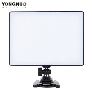 Image 2 - YONGNUO YN300 YN 300 powietrza kamera LED lampa wideo 3200 K 5500 K z NP F750 dekodowane bateria + ładowarka do Canona Nikon i kamery