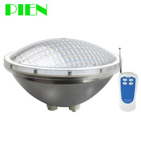 Par 56 LED Swimming pool light 12V IP68 RGB Stainless steel for Fountain pond lampara 24W 35W with Remote Free ship