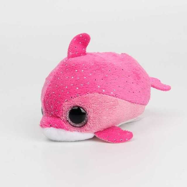 4bfe8caefba 10CM Mini Original Ty Plush Toys Beanie Boos Big Eyes fox unicorn Pocket  TSUM Candy pig Stuffed Doll Pink Owl TY Baby Kids Gift