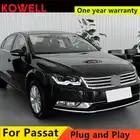 KOWELL Estilo Do Carro Para VW Passat Magotan 2012 2016 LED faróis DRL frente Lente Bi Xenon Duplo Feixe KIT HID - 2