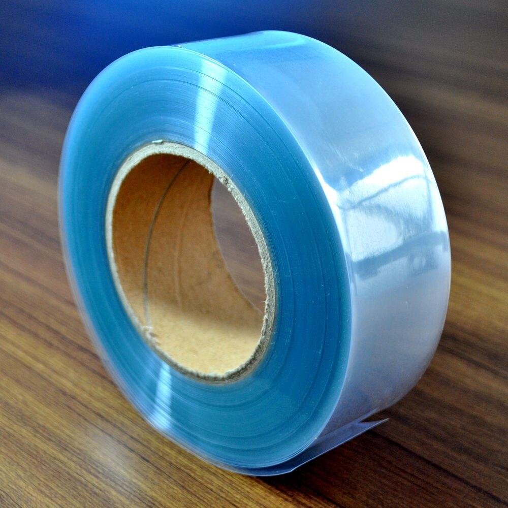 120mm Transparent Clear PVC Heat Shrink Tube For RC LiPO NiMH NiCd Battery Shrinking Case Shealth Housing