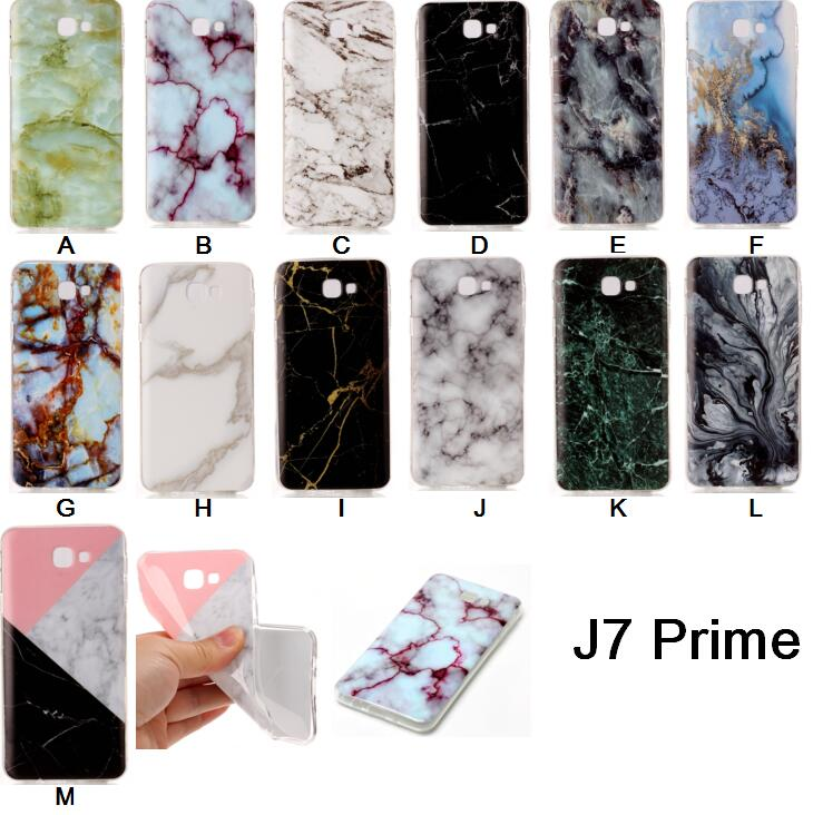 For Sumsung Galaxy J7 Prime Case Marble Rock Stone Texture Pattern Soft Silicone TPU Back Cover Case for Samsung J7 Prime ...