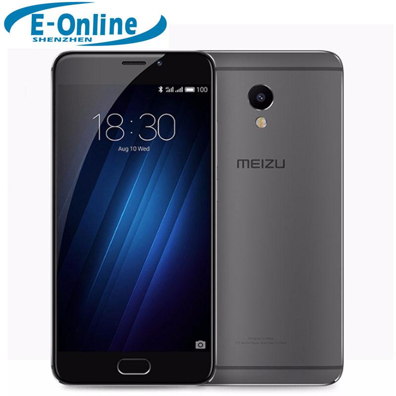 "Original Meizu M3E(M1E) 4G LTE Cell Phone MTK Helio P10 Octa Core Fingerprint 5.5"" FHD 1920x1080 3GB 32GB"
