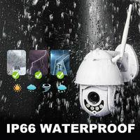 IP Camera 1080P Surveillance WiFi Camera CCTV Network Monitor Record Waterproof Indoor/Outdoor Two Way Audio Pan Tilt