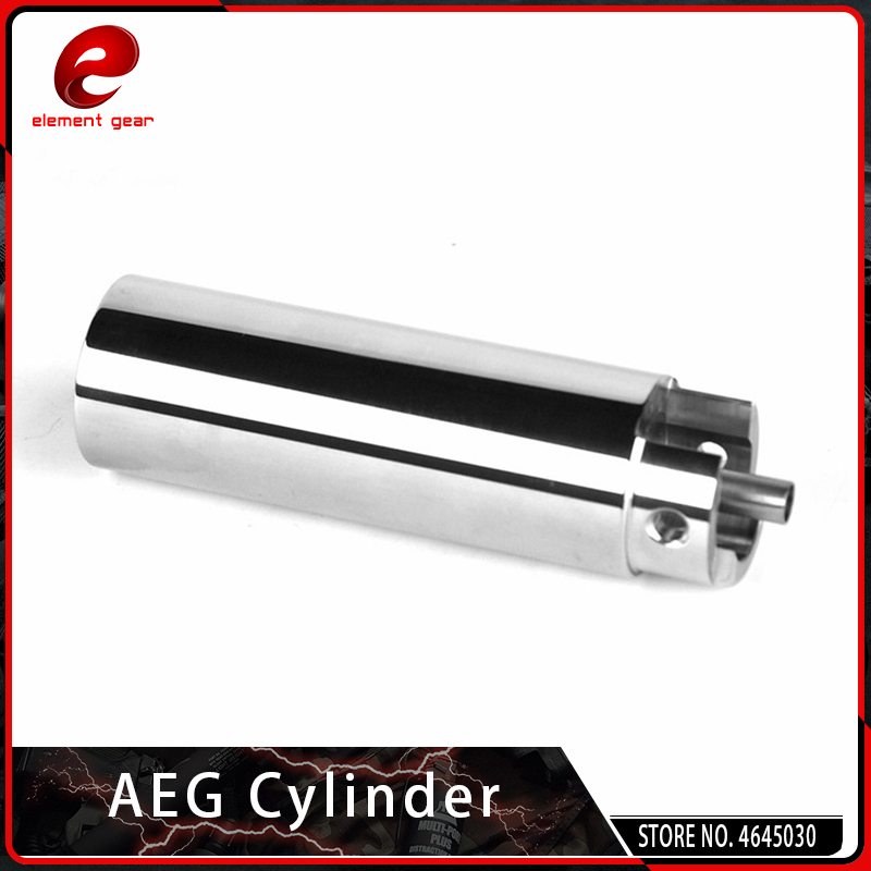 Element Airsoft Stainless Steel AEG Cylinder Type B For M4 AK Gel Blaster Gearbox Smooth Inner Wall Paintball Accessories