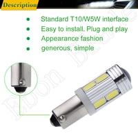 smd 5630 led 2Pcs Hot H21W BAY9S 5630 5730 10 SMD LED Auto Lens Car Backup Reverse Lights Rear Fog lamp Indicator Turn Corner Bulb White 12V (4)