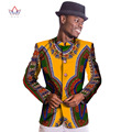 Projetos homens Blazer Terno Masculino Blazer Modas de Ancara Dashiki Africano Cera de Impressão Blazer Slim Fit Mens Blazer 6XL WYN251