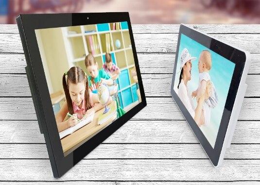 OEM 10.1/14/15.6/18 pouces lcd écran tactile/moniteur/affichage Android tablette numérique PC avec fonction de reconnaissance visage/empreinte digitale