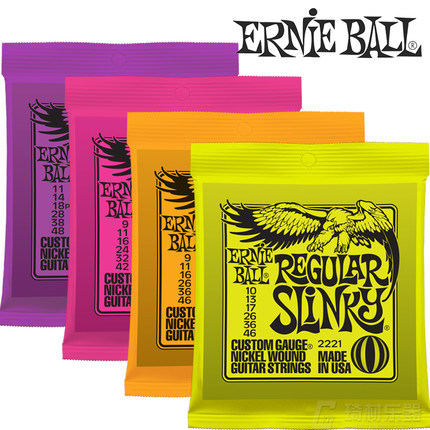 Ernie Ball Electric Guitar Strings High Quality 2223 2225 2221 2627 2626