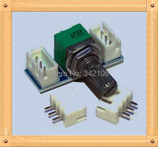 Free Shipping!!!  5pcs 09 type 9mm stepping potentiometer kit / with PCB / DIY amp / volume dedicated