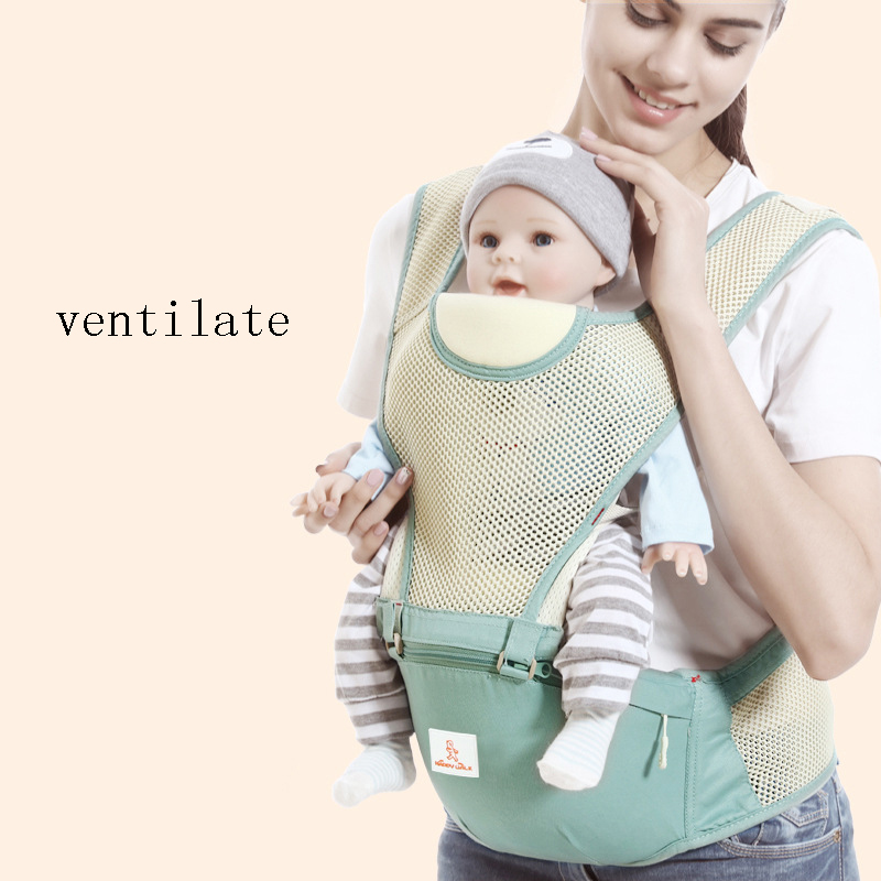 Comfortable And Breathable Front Facing Baby Carrier 4 In 1 Infant Comfortable Sling Backpack Pouch Wrap Baby Kangaroo