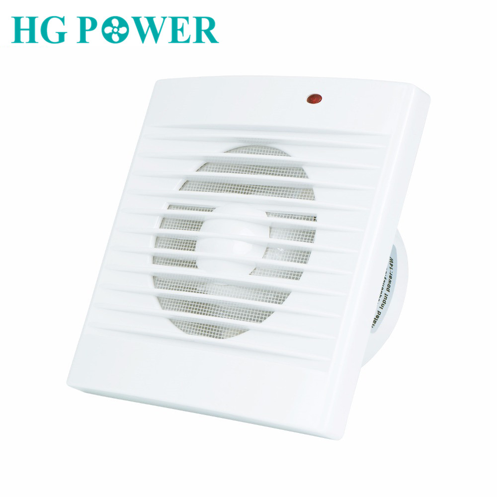 4'' Silent Exhaust Fan Toilet Ventilator Extractor 110V 220V Wall Mounted Air Vent Ventilation For Home Bathroom Kitchen Garage