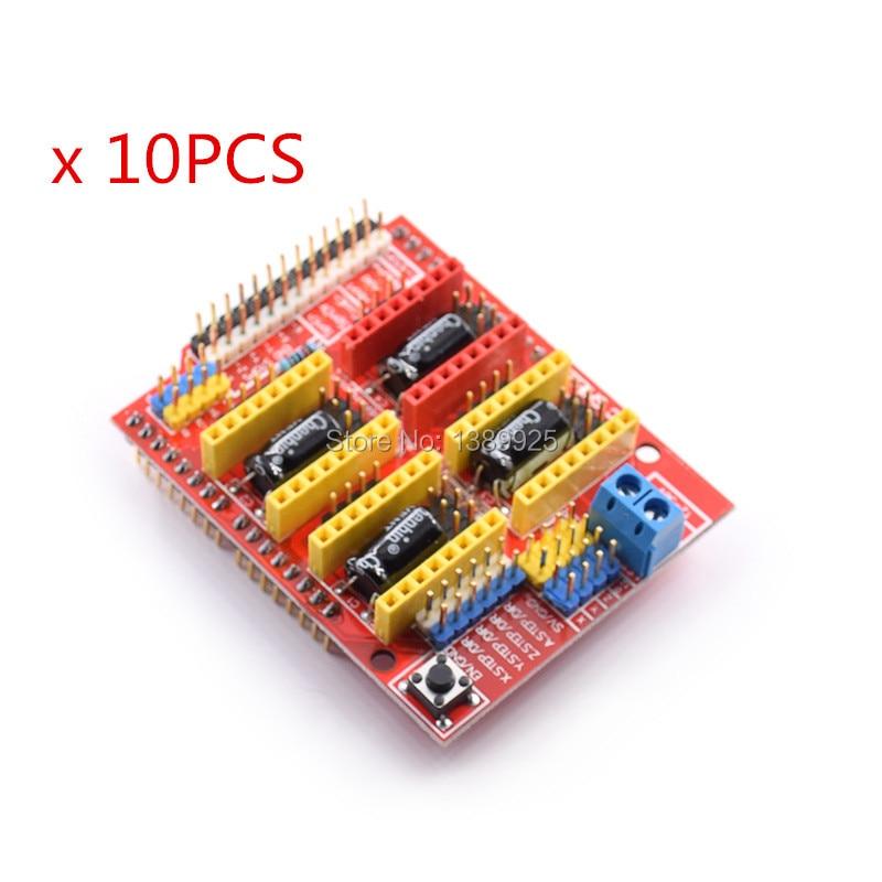 10pcs New Cnc Shield V3 Engraving Machine / 3D Printer / A4988 Driver Expansion Board