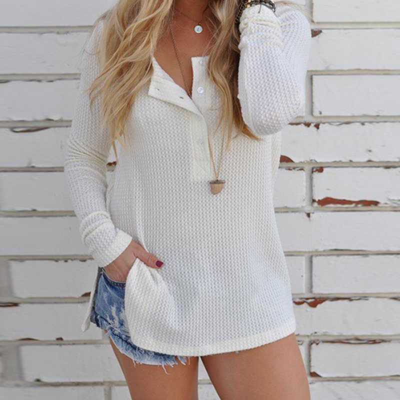Sweater Women Winter Pullovers Solid Knitted Long Sleeve Basic Tops For  Women Autumn Chandail Female Jersey de3fc9214c57