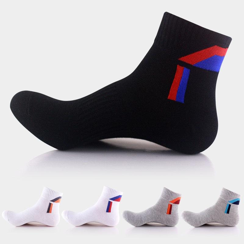 5 pairs cotton sporting socks for men brand quality Mountain cool socks riding deporte odor free socks silver short white sock