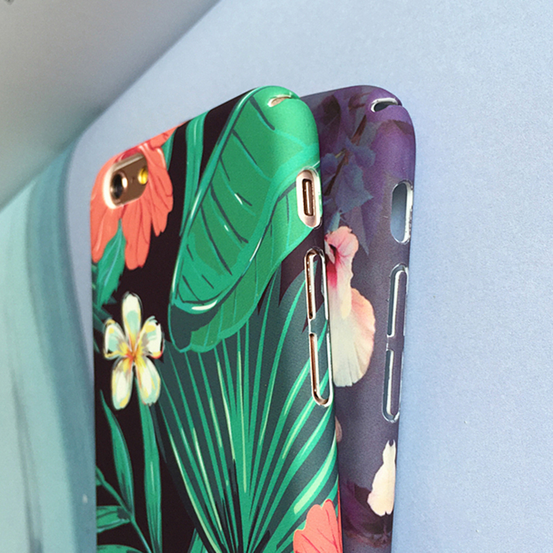 case for iphone Picture - More Detailed Picture about LOVECOM Banana Leaf Flowers Cherry Plants