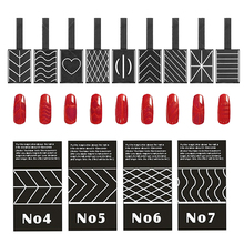 9 Pieces Nails Magnetic Sticks For Cat Eye UV Gel Nails Polishes Magic Effect Magnetic Sticks Pen Manicure Nail Tool Drawing DIY