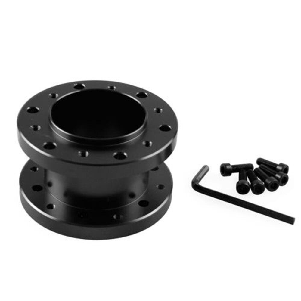 Aluminium Stuurnaaf Adapter Spacer Kit HLEST 5 cm Hoogte Aluminium Stuurnaaf Adapter Spacer Kit voor Racing auto