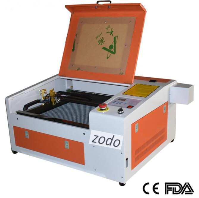 ZD4040 50W Laser Engraving Machine , 400x400mm 50w Laser Cutter Machine