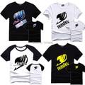 Fairy Tail T-Shirt Cotton T Shirts Anime Men Child Tshirt Tee S - XXL Fairytail Logo