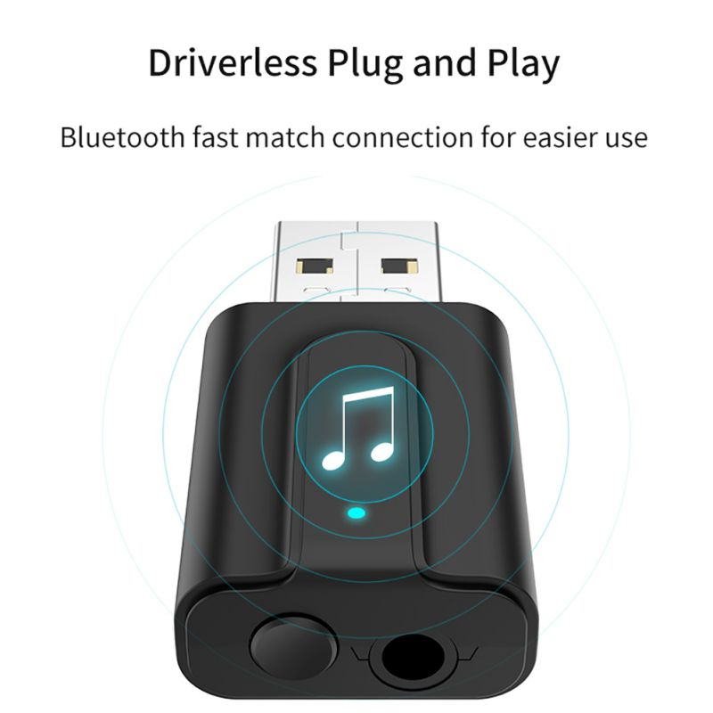 2-in-1 Music Audio Bluetooth Transmitter Bluetooth Receiver Transmitter For Bluetooth 5.0 USB Speaker Headphone Adapter