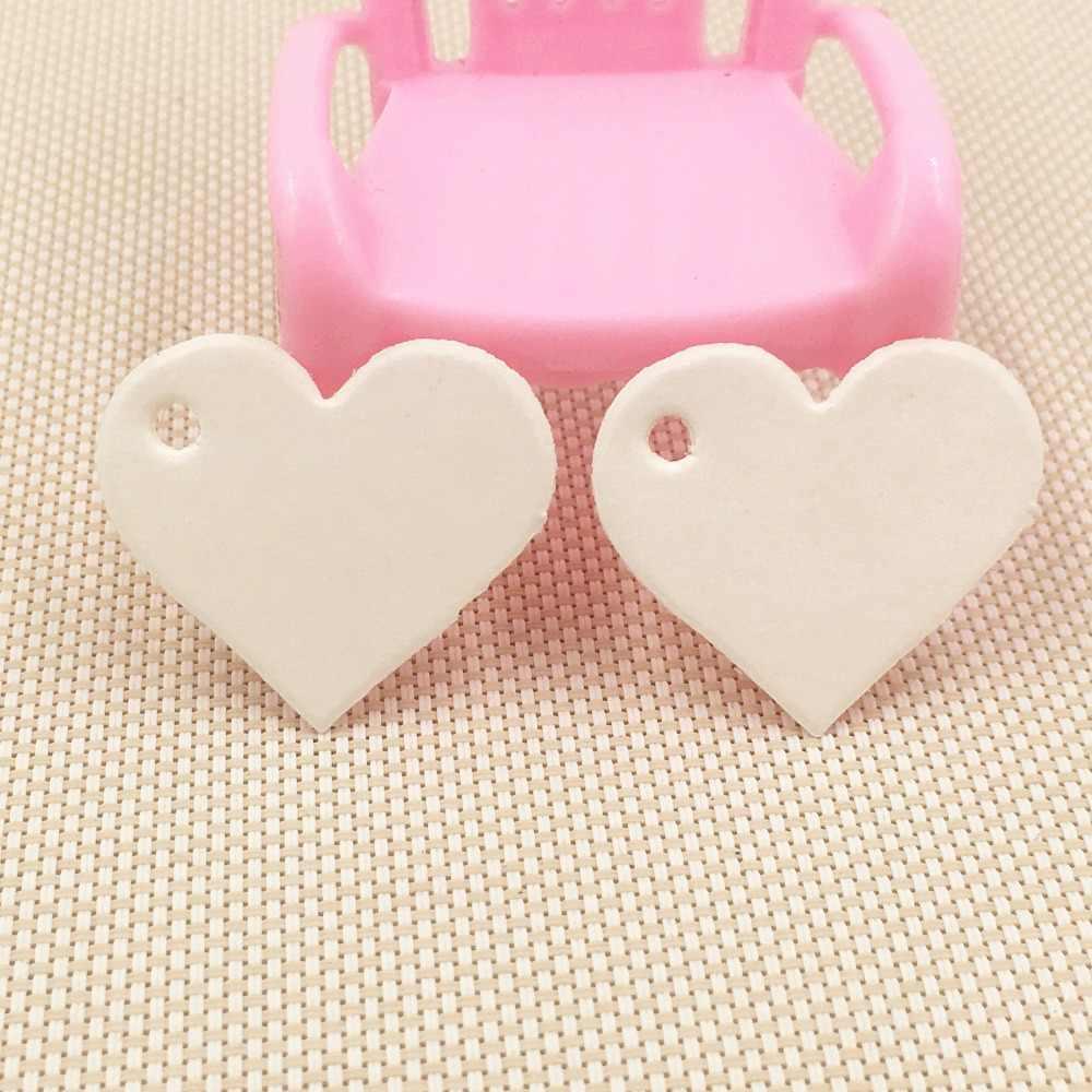 Открытки в форме сердечек маленькие