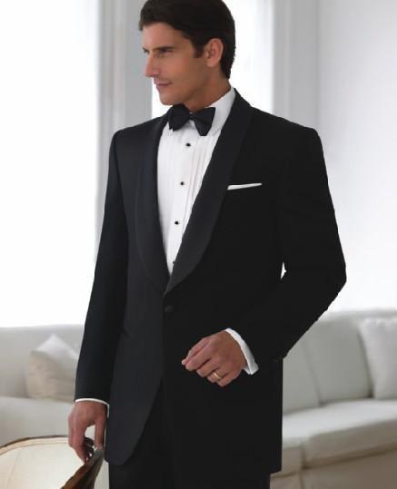 2018 new brands, quality bride, best suit, lapel peak, Ivory Wedding / Groom Wedding Party Suite (jacket + pants + tie + vest)