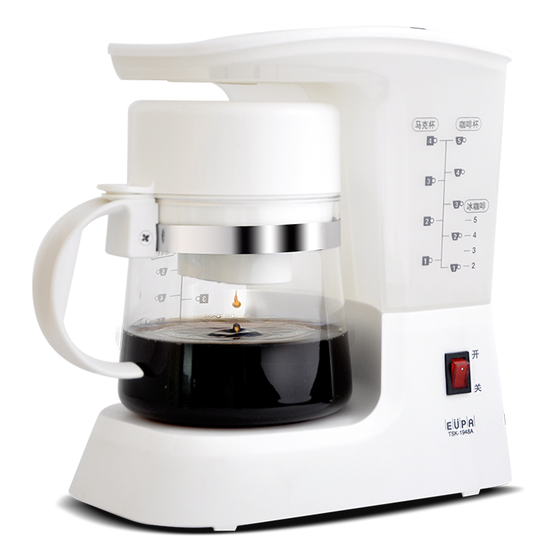220V Household Electric Drip Tea Coffee Maker Automatic Boiling Coffee Tea Pot Tea Coffee Making Boiling Machine EU/AU/UK Plug coffee maker uses the american drizzle to make tea drinking machine