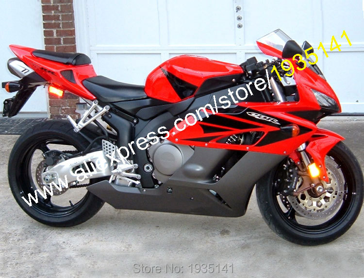 Hot Sales,Motorcycle Fairing For Honda CBR1000RR 2004 2005 CBR 1000 RR 04 05 Red Black Bodywork Fairing Kit (Injection molding) hot sales for honda cbr600rr 2003 2004 cbr 600rr 03 04 f5 cbr 600 rr blue black motorcycle cowl fairing kit injection molding