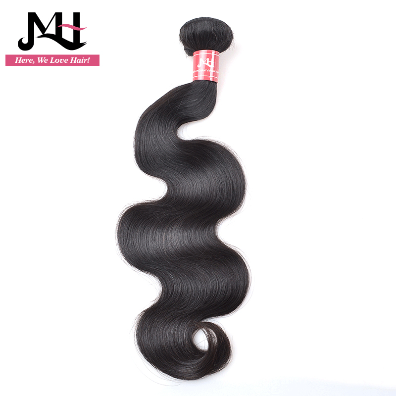 Human Hair Weaves Well-Educated Jvh Hair Products Indian Hair Body Wave Natural Color Remy Hair Weaving 100% Human Hair Bundles 8-28inch