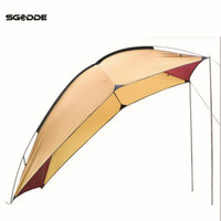 SGODDE Outdoor Car Tail Account 5 8 People Use Waterproof Sunshade Tent Barbecue Camping Wild Outdoor Travel Self Driving Tent