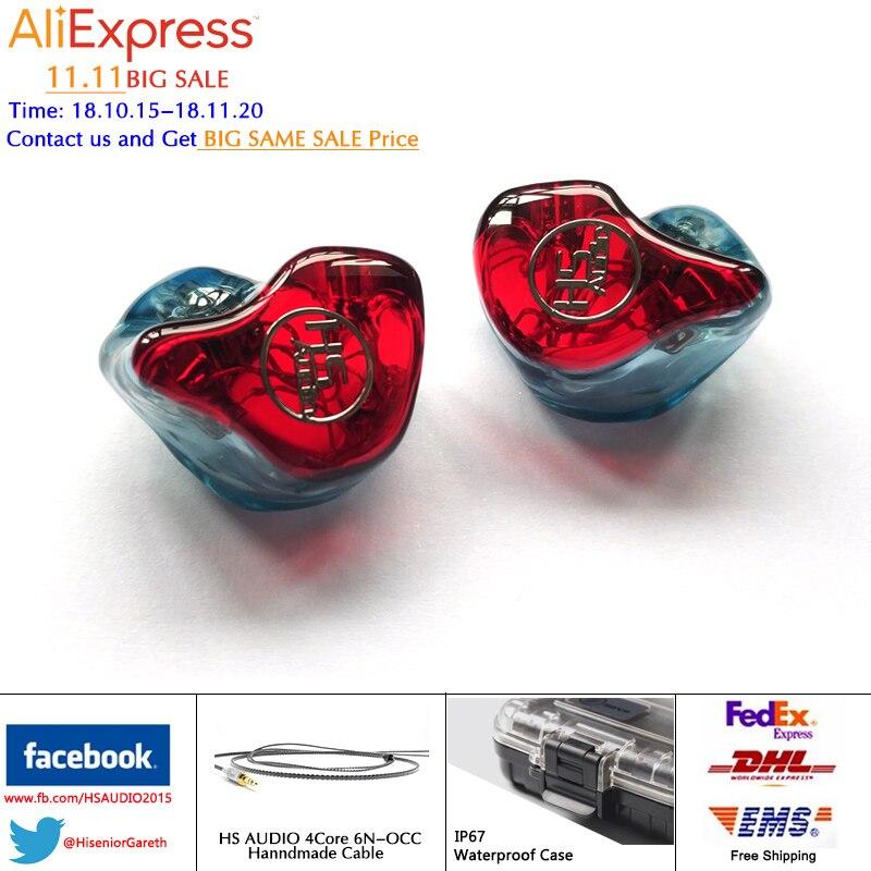 цена на IE800 DD+BA Balanced Armature BA Drivers UE SE846 535 In Ear Monitor Noise Cancelling Custom Earphone DHL/FEDEX Free Shipping