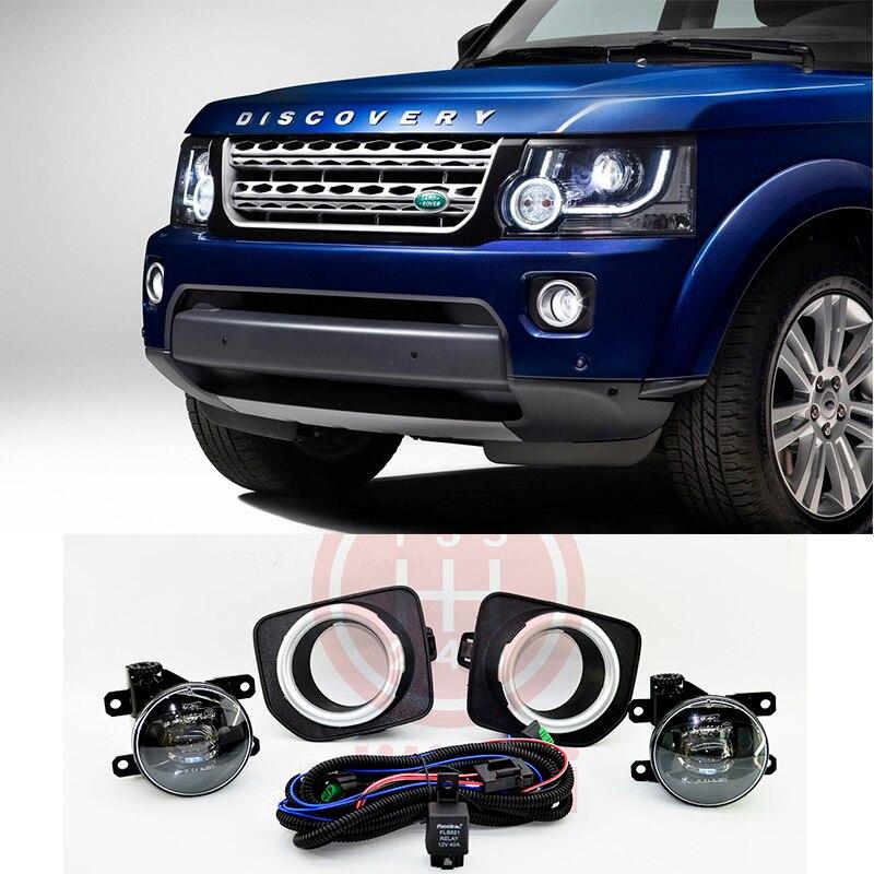 OEM Halogène Brouillard Lampe lumières kit pour Land Rover Découverte 4 LR4 2014 2015 2016 2017 2018 2019 SAE
